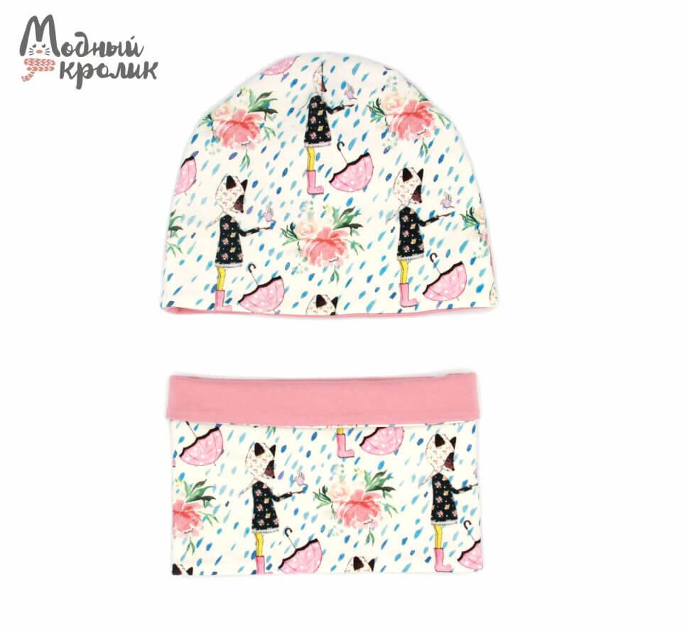 Комплект (шапка и снуд)