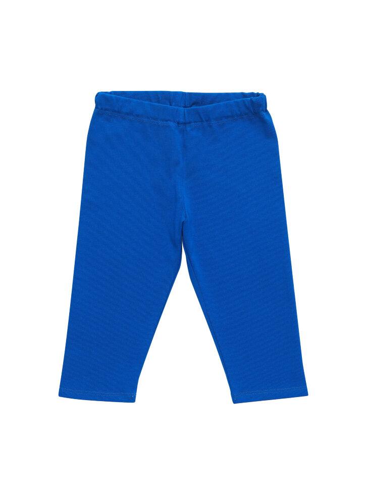 Синие трикотажные бриджи
